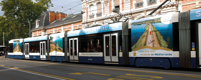 affichage tramway